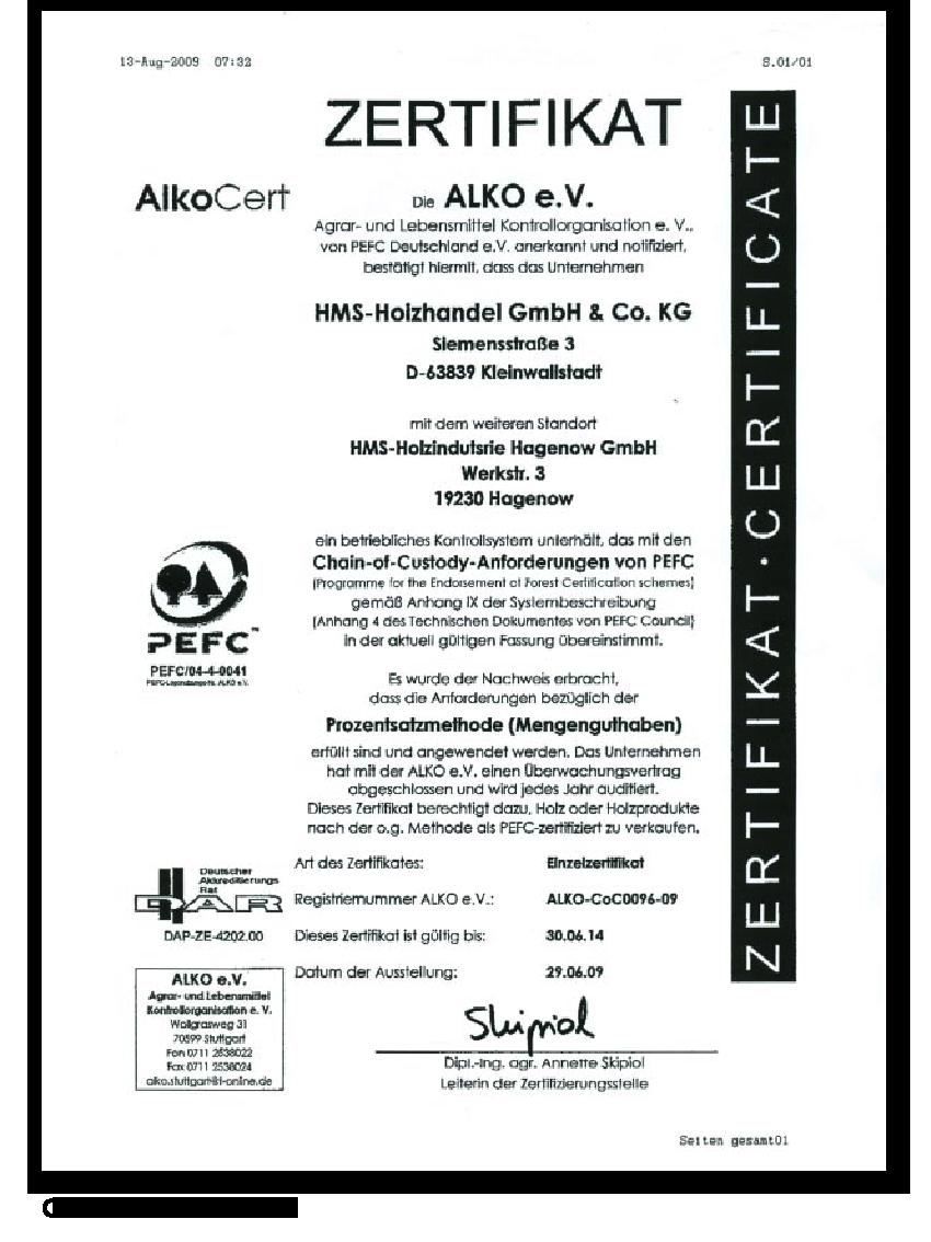 certificado